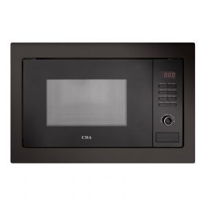 CDA VM230BL 25L 900W Integrated Built in Black Microwave Oven & Grill
