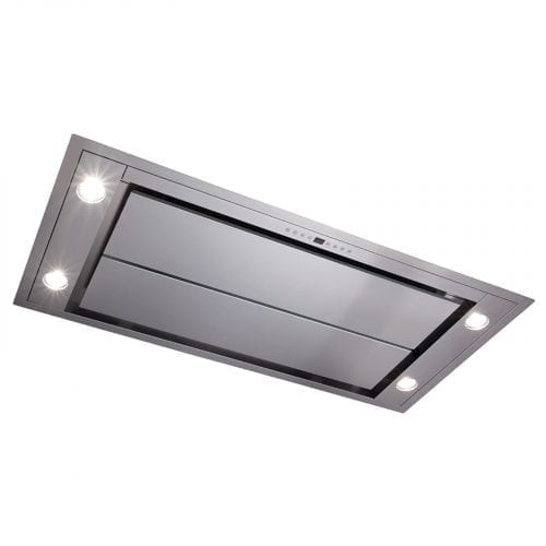 CDA EVX101SS 100cm Ceiling Kitchen Cooker Hood Extractor Fan In Stainless Steel