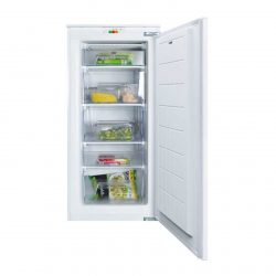 CDA FW582 122cm Integrated In Column Three-Quarter Height White Freezer