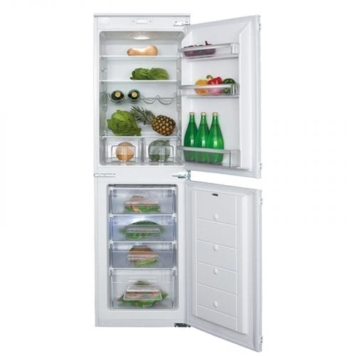 CDA FW852 Integrated 50>>50 Combination White Fridge Freezer | A+ Rating