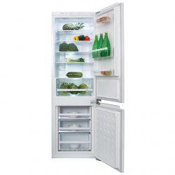 CDA FW971 Integrated 70/30 Combi Frost Free Reversible White Fridge Freezer