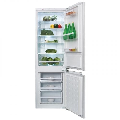 CDA FW971 Integrated 70/30 Combi Frost Free Reversible White Fridge Freezer