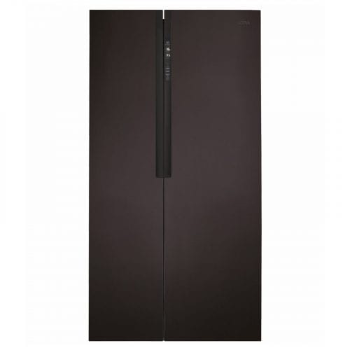 CDA PC52BL Black 518L American Style LED Frost Free Fridge Freezer A+ Rating