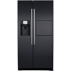 CDA PC71BL Black A+ Rating American Style Frost Free Fridge Freezer W>> Home Bar