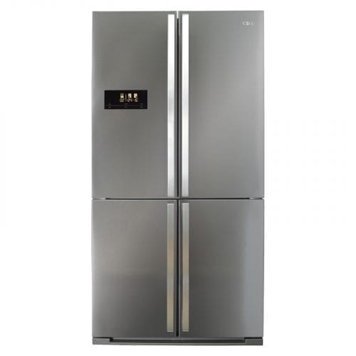 CDA PC900SS American 4 Door Fridge With Multi Zone Cooling In Stainless Steel