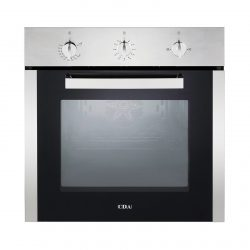 CDA SG120SS Built In 78L Multi Function Single Fan Gas Oven In Stainless Steel