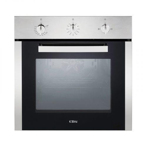 CDA SG120SS Built In 78L Multi Function Single Fan Gas Oven In Stainless Steel