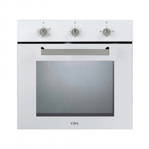 CDA SG120WH White Built In 78L Multi Function Single Fan Assisted Gas Oven