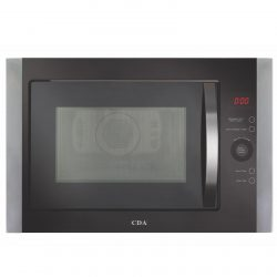 CDA VM451SS Stainless Steel & Black Built In Microwave, Grill & Convection Oven