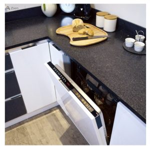 CDA WC600 60cm Intelligent Fully Integrated A++ Dishwasher With Cutlery Drawer