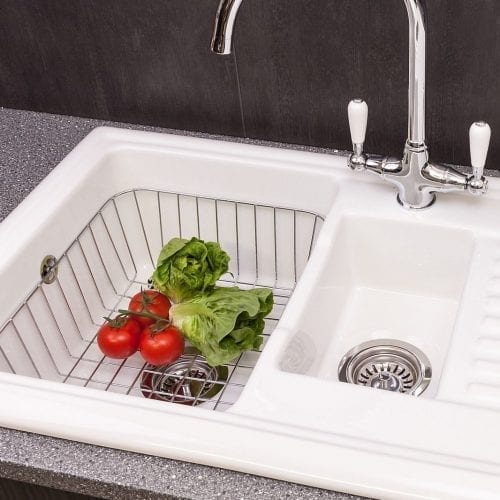 Reginox CWB15 Wire Basket For RL301CW 1.5 Bowl White Ceramic Sinks