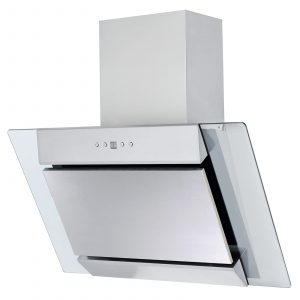 SIA 60cm True Fan Electric Single Oven, 4 Zone Plate Hob And Angled Cooker Hood