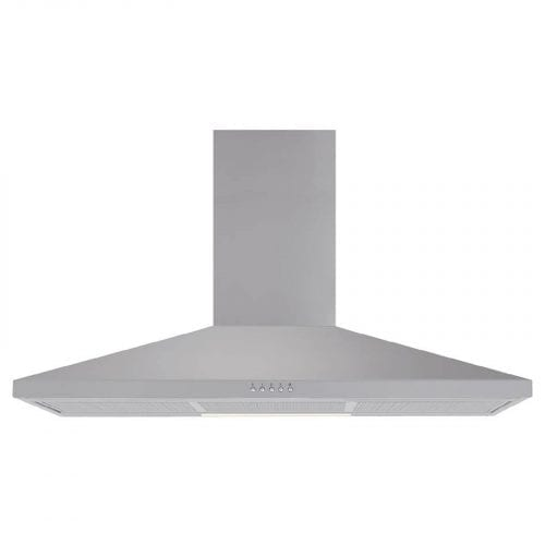 Matrix MEH901SS Stainless Steel 90cm Chimney Cooker Hood Extractor