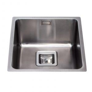 CDA KSC23 Undermount Designer Kitchen Sink in Stainless Steel