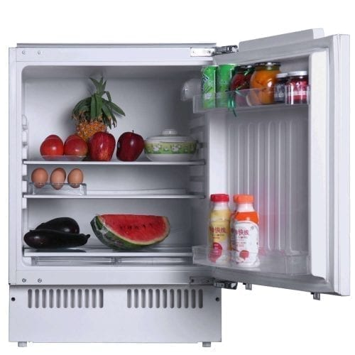 SIA RFU101 Integrated 142 Litres Under Counter Larder Fridge with Auto Defrost
