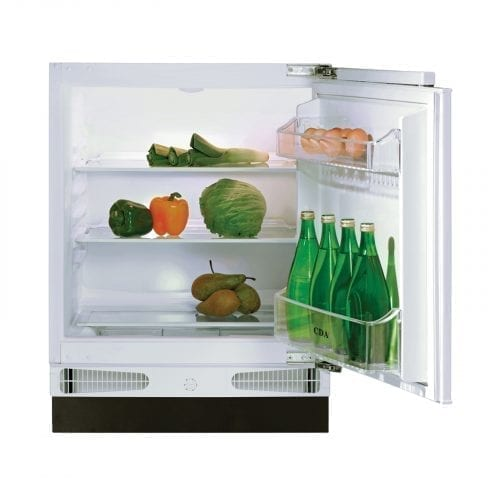 CDA FW223 Integrated Under Counter Larder 133 Litre Fridge