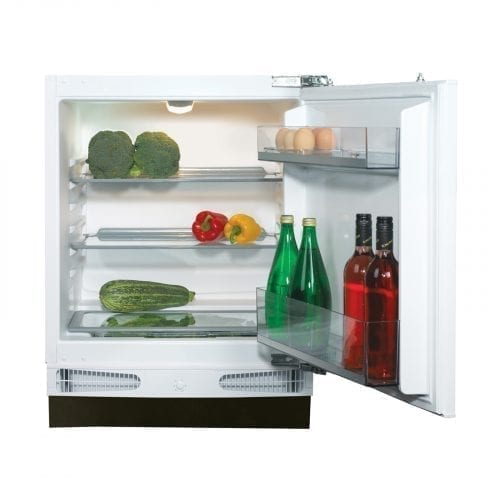 CDA FW321 Integrated Under Counter 60cm White Larder Fridge A+ Energy Rating