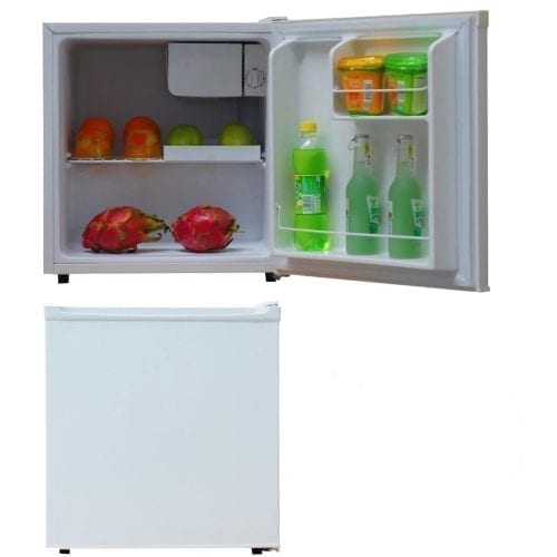 SIA TT01WH 47L Counter Table Top Mini Drinks Fridge With Ice Box In White | A+