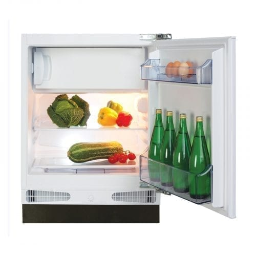 CDA FW253 Integrated Under Counter 115 Litre Fridge with Icebox