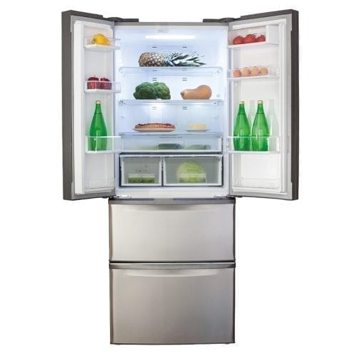 CDA PC84SC American Two Door Fridge with Frost Free Two Drawer Freezer