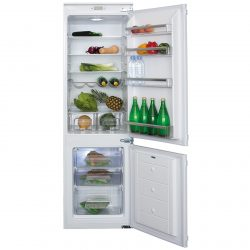 CDA FW872 Integrated 70-30 Combination White Fridge Freezer | A+ Rating