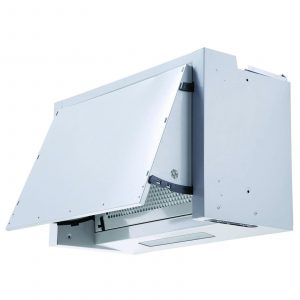 SIA BIE60SI 60cm Silver Integrated Built In Cooker Hood Kitchen Extractor Fan