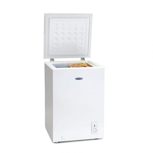 Iceking CH1041H 103L Slimline Chest Freezer In White | A+ Energy Rating