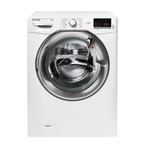 HOOVER HLW585DC White 1500rpm 8kg One Touch Freestanding Washer Dryer