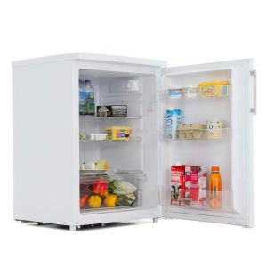 Hoover HFLE6085WE 55cm Wide White Freestanding Under Counter Fridge A+ Energy