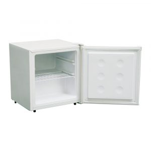 Amica FZ0413 48cm Freestanding Upright Table Top Compact Freezer - White