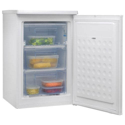 Amica FZ0984 48cm A+ Energy Rated Freestanding Undercounter Freezer - White