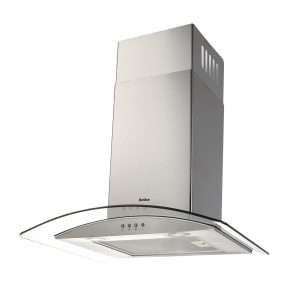 OKP631G 60cm Curved Glass Extractor Stainless Steel Chimney Cooker Hood