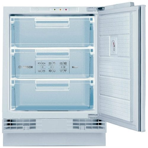 Bosch GUD15A50GB 60cm Wide Integrated Upright Under Counter Freezer - White