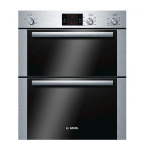 Bosch HBN13B251B Built In Integrated Electric Double Fan Oven - Stainless Steel