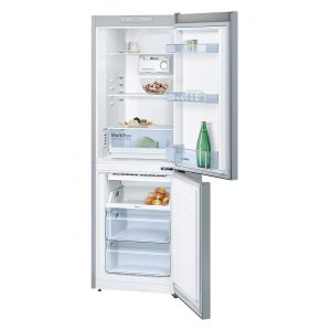 Bosch KGN33NL20G 279L No Frost Freestanding Fridge Freezer - Stainless Steel