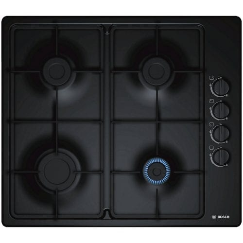 Bosch PBP6B6B60 Serie 2 58cm Four Burner Integrated Hob with LPG Kit - Black