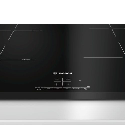 Bosch PIE651BB1E 59.2cm 4 Zone Electric Induction Hob with Power Boost - Black