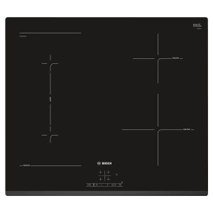 Bosch PWP631BF1B 60cm Black Serie 4 Four Zone Frameless Bevelled Induction Hob