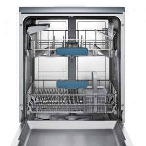 Bosch SMS53M08UK 60cm A++ Energy Rated Freestanding Dishwasher - Silver Inox