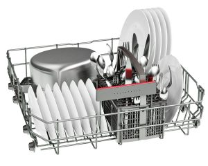 Bosch SMS46IW02G Serie 4 Active Water White 13 Place Freestanding Dishwasher