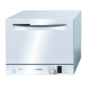 Bosch SKS62E22EU Freestanding Silence Plus Compact Table Top Dishwasher - White