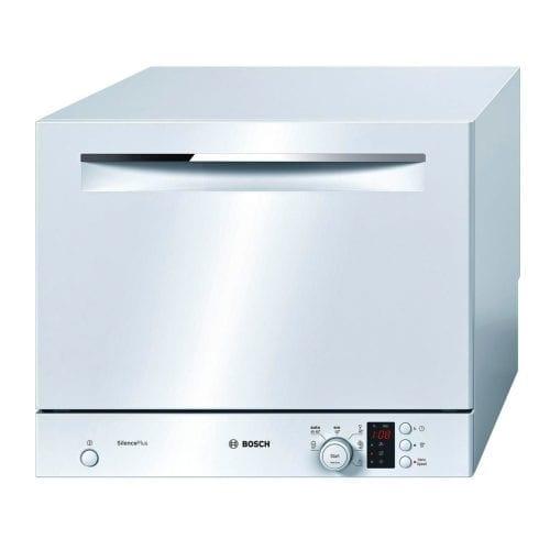 Bosch SKS62E22EU Freestanding Silence Plus Compact Table Top Dishwasher - White