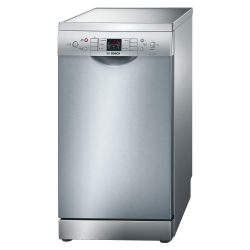 Bosch SPS53M08GB Silver Active Water 9 Place Slimline Freestanding Dishwasher