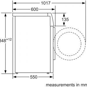 Bosch WAT28371GB 9kg 1400rpm Freestanding EcoSilence Washing Machine - White