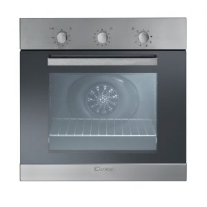 Candy FPE403/6X Plan Light Fanned Electric Built In Single Oven Stainless Steel