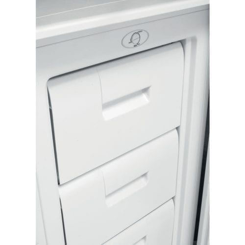Indesit DZAA50 50cm A+ Energy Rated 70L Under Counter 3 Drawer Freezer - White