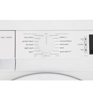 Gorenje W8543C 60cm White Freestanding 8kg 1400 Spin A+++ Washing Machine