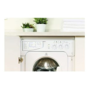 Indesit IWME127 White 7kg 1200rpm A+ Energy Rating Integrated Washing Machine