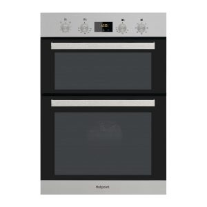 Hotpoint DKD3841IX Stainless Steel Multifunction Electric Built-in Double Oven