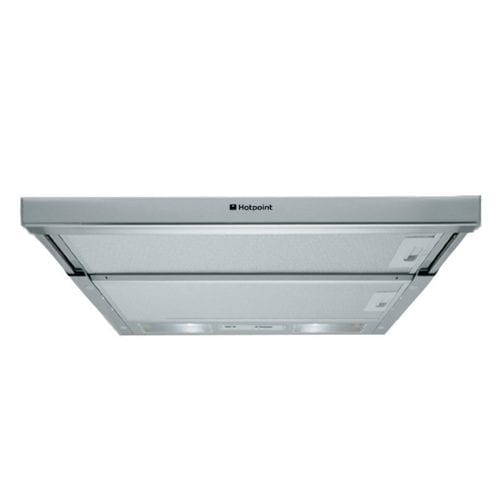 Hotpoint HSFX1 60cm Stainless Steel Telescopic Canopy Cooker Hood Extractor Fan